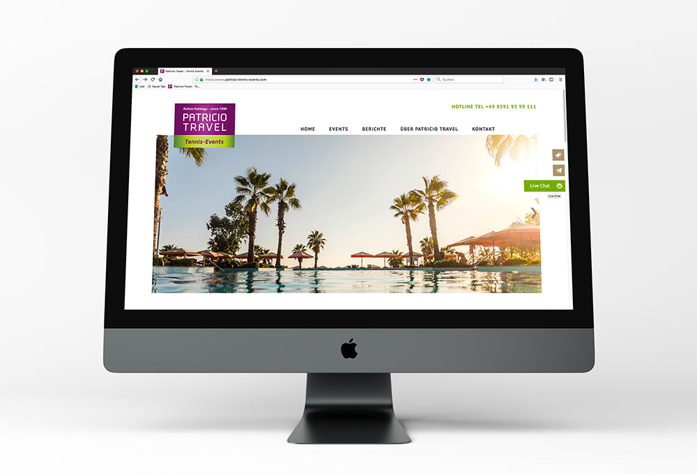 Website Patricio Travel
